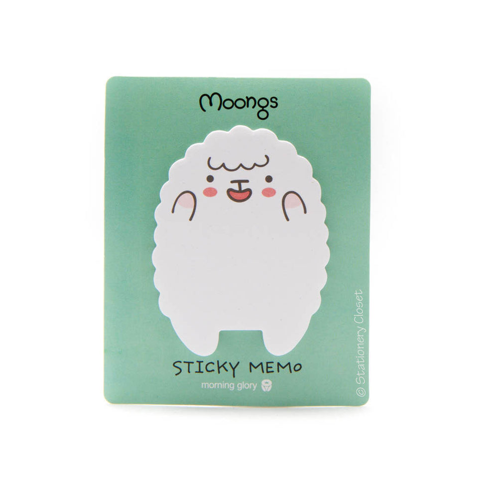 Sheep sticky notes - excited sheep