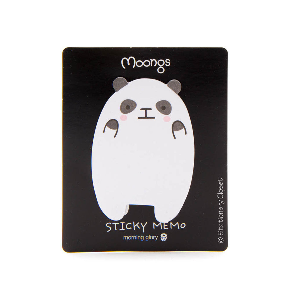 Panda sticky notes - nervous panda
