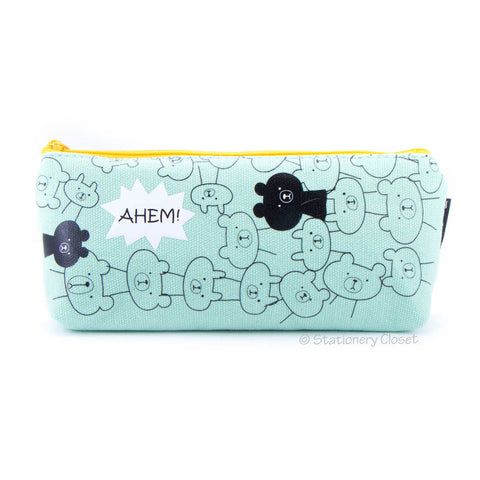 Animal party pencil case - bear