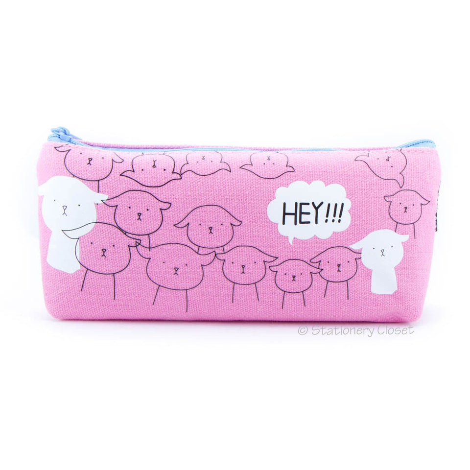 Animal party pencil case - sheep