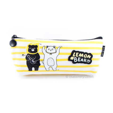 Lemon bear pencil case - jam session
