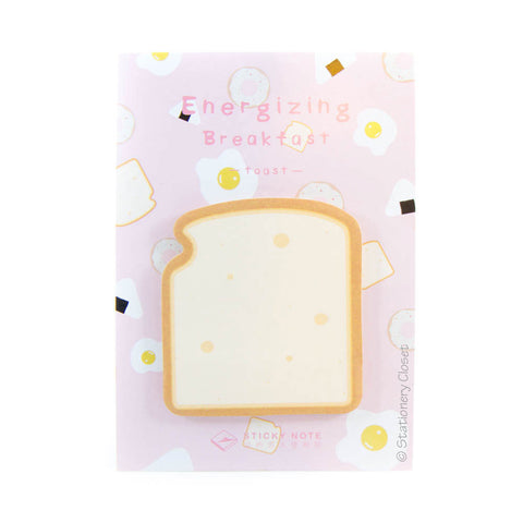 Breakfast sticky notes - toast