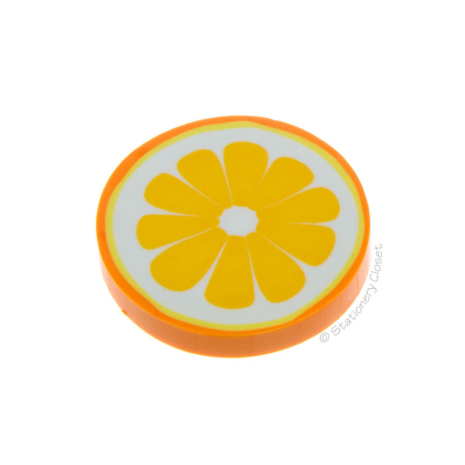 Fruit eraser - orange