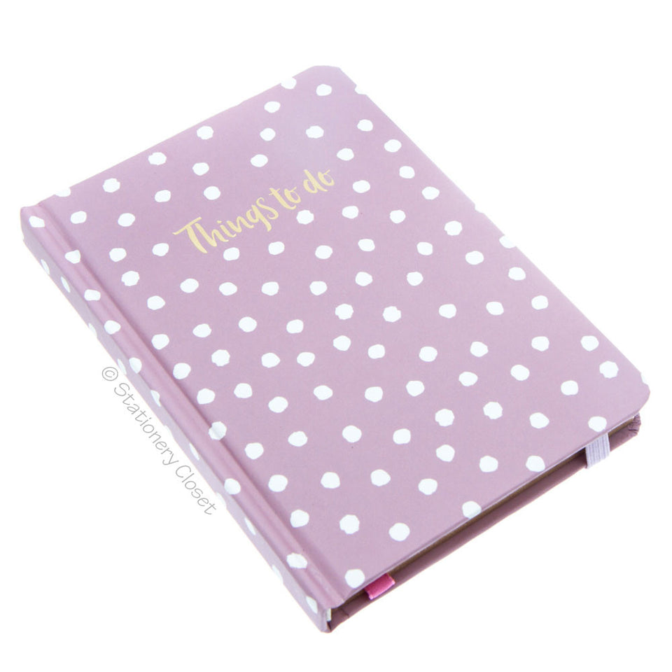 Hardback A6 notebook - Things To Do