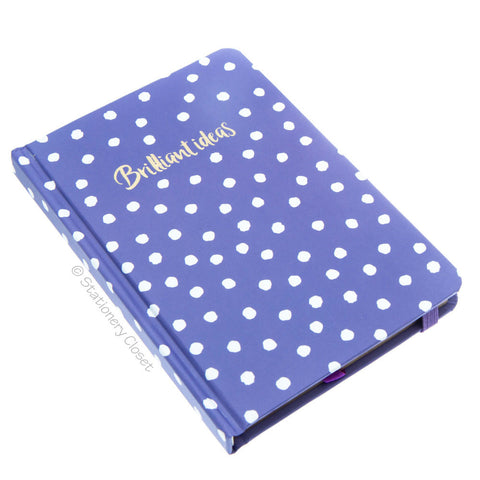 Hardback A6 notebook - Brilliant ideas