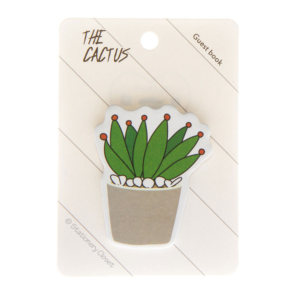 Cactus sticky notes - the leafy one