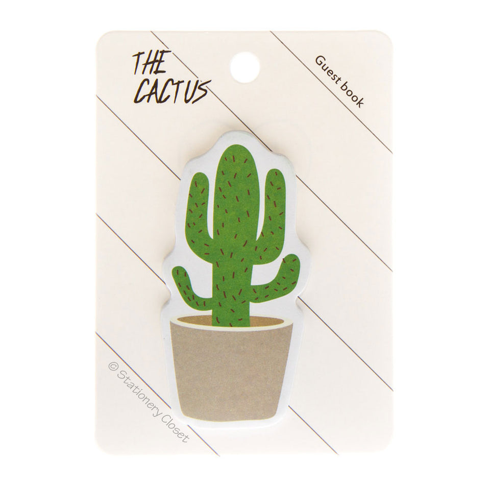 Cactus sticky notes - the stubbly one
