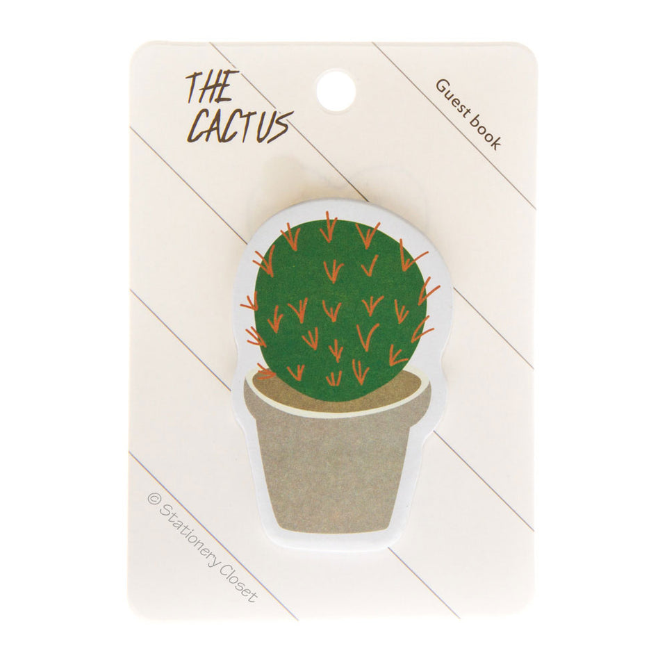 Cactus sticky notes - the round one