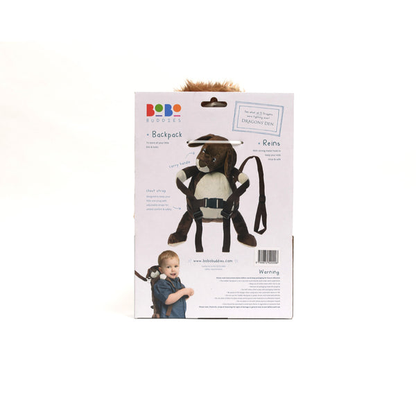 BoBo Buddies Roary the Lion Toddler Backpack with Reins