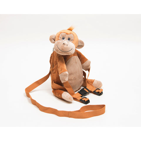 BoBo Buddies Mungo the Monkey Toddler Backpack with Reins