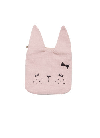 fabelab coin pouch bunny mauve, children's accessories