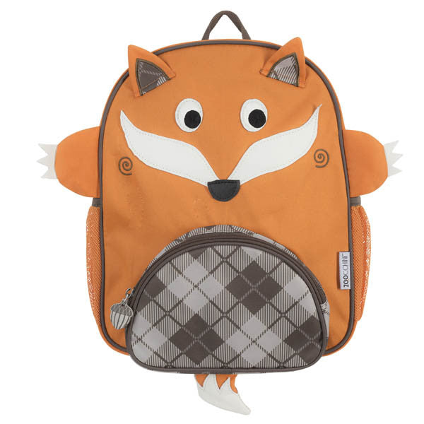 zoocchini backpack, finley the fox, back to school