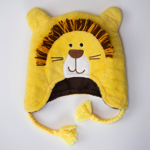 FlapJackKids Monkey/Lion - Winter Hat
