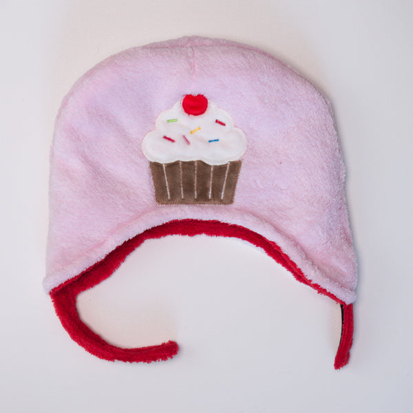 FlapJackKids Strawberry/Cupcake - Winter Hat