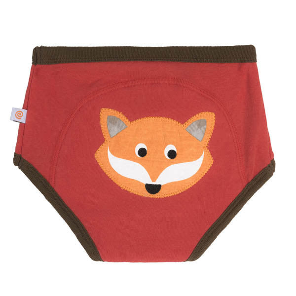 Zoocchini training pants, single pack, fox, organic