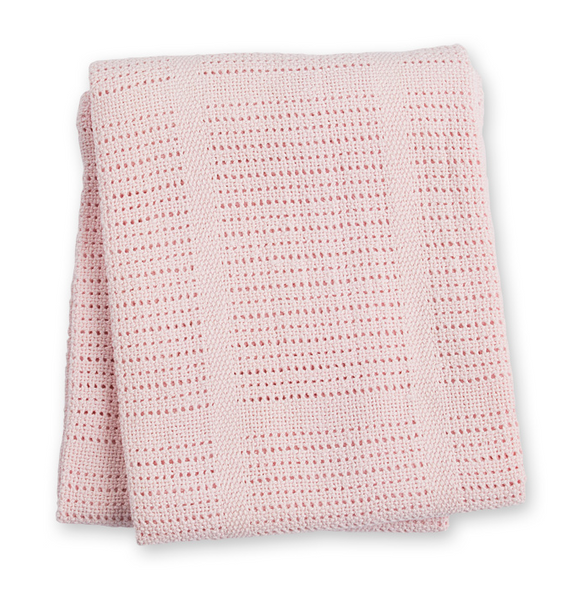 Lulujo 100% Cellular Cotton Blanket