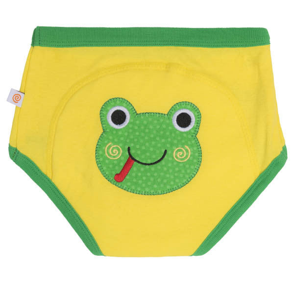 Zoocchini training pants, single pack, frog, organic