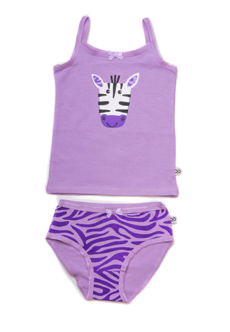 Zoocchini Girls Cami Underwear Set