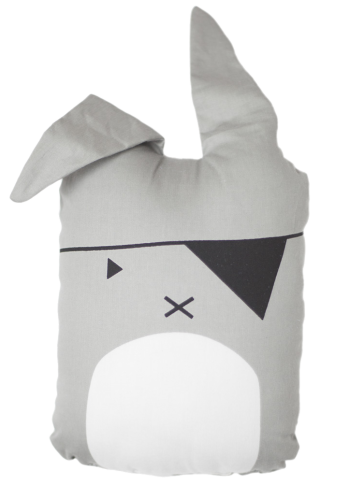 Fabelab pirate bunny cushion, homeware, interior and gift