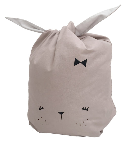 fabelab storage bag bunny, storage solutions, home decor, reversible