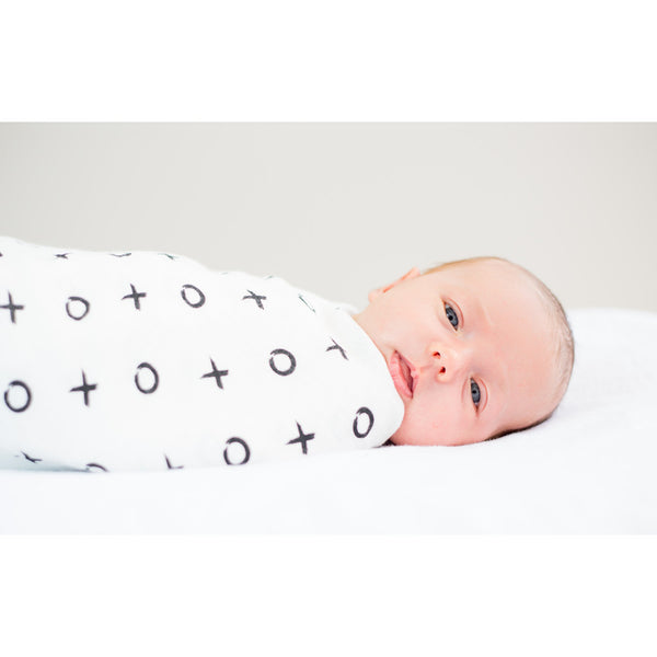 Lulujo Modern Collection Bamboo Swaddle Blankets