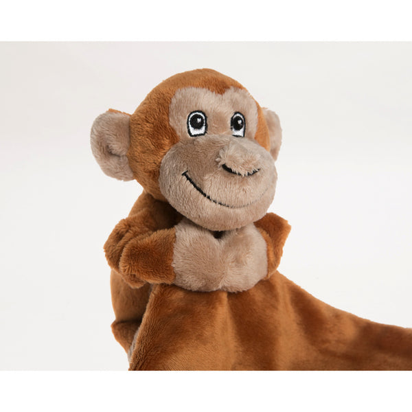 Monkey baby comforter, comes with blanket