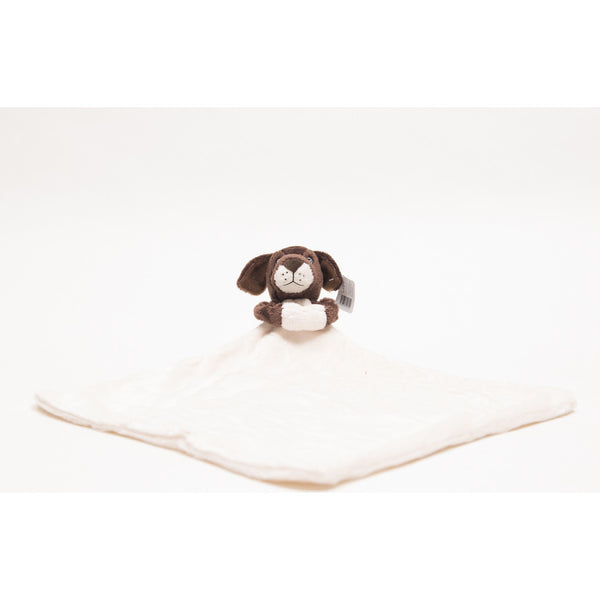 Puppy baby comforter, comes with blanket