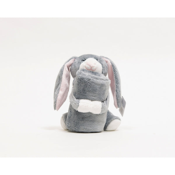 Bunny comforter, soft and comes with blanket