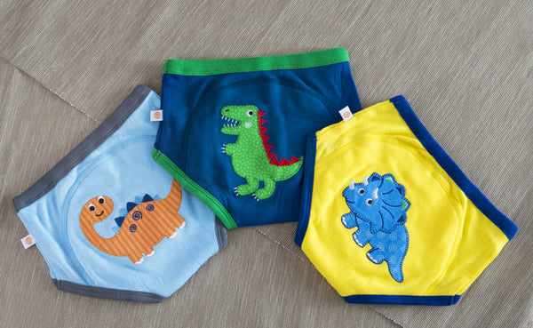 Jurassic Pals Boys Training Pants (set of 3) -New for 2017
