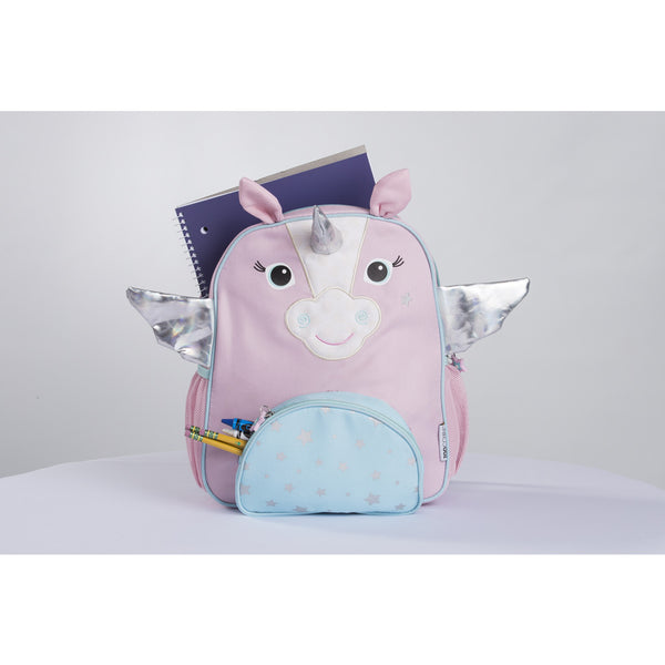 zoocchini backpack, allie the alicorn, back to school