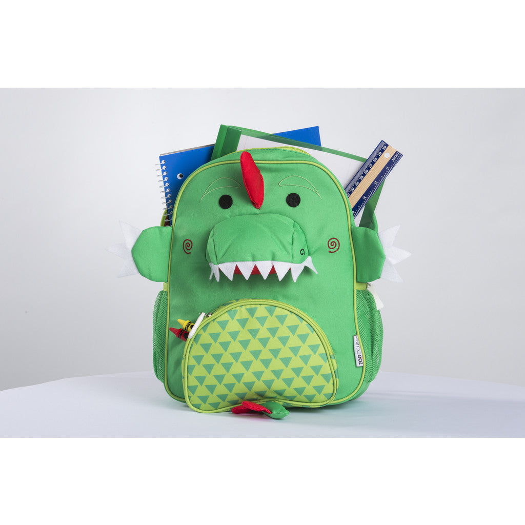 zoocchini backpack, devin the dinosaur, back to school