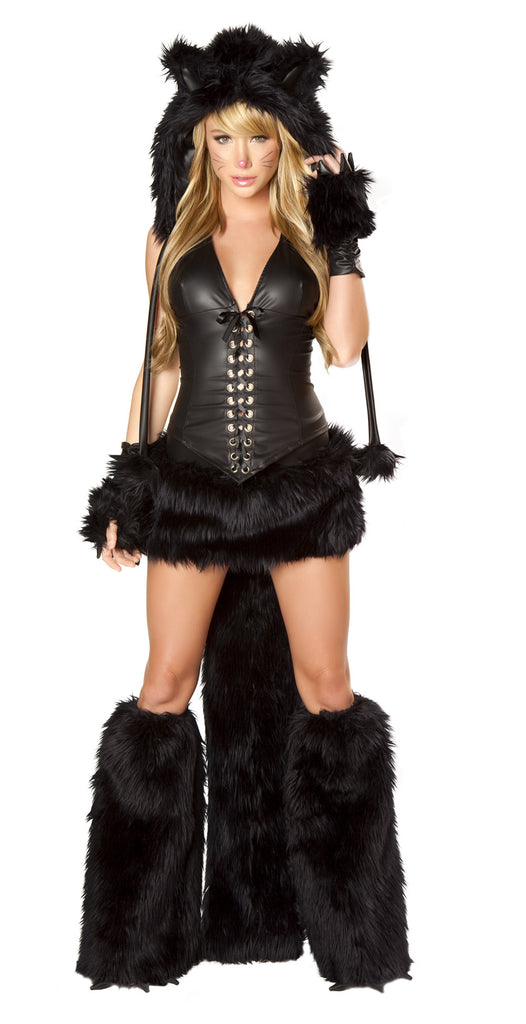 Black Cat Furry Costume by J Valentine - HussyStore - 1