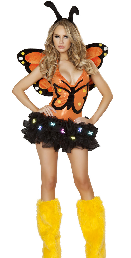 Monarch Butterfly Costume by J Valentine Complete Set - HussyStore - 1