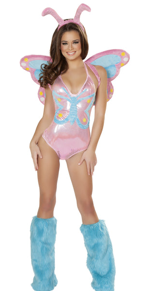 Pastel Butterfly Costume by J Valentine - HussyStore - 4