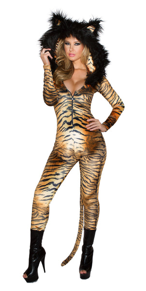 Tiger Catsuit Costume by J Valentine - HussyStore