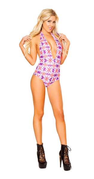 Kaleidoscope Light Up Halter Romper by J Valentine - HussyStore - 1