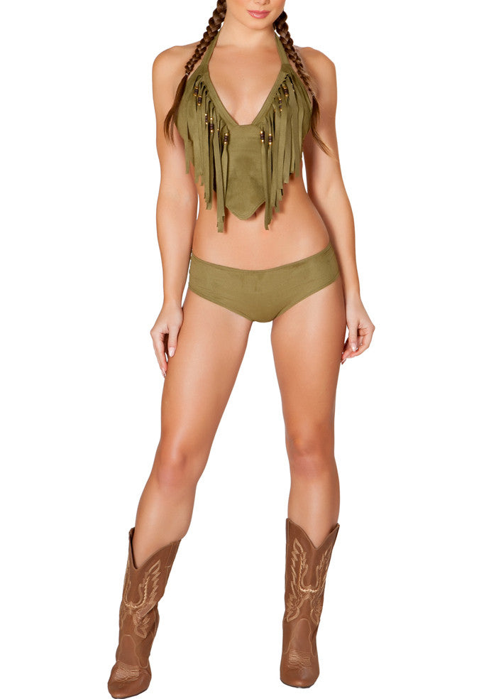 Rodeo Top and Shorts - Olive