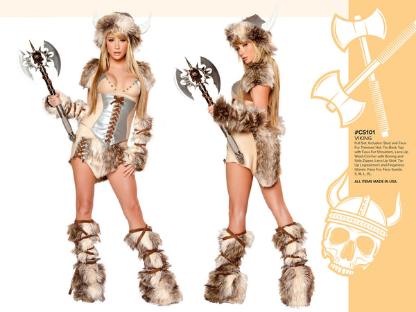 The Viking Costume by J Valentine - HussyStore - 3