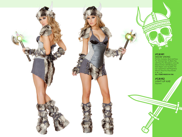 Snow Viking Costume Costume by J Valentine - HussyStore - 2