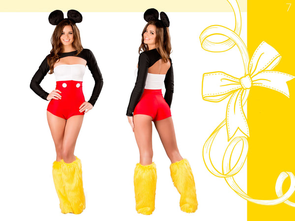 Mouse Romper Costume by J Valentine - HussyStore - 2