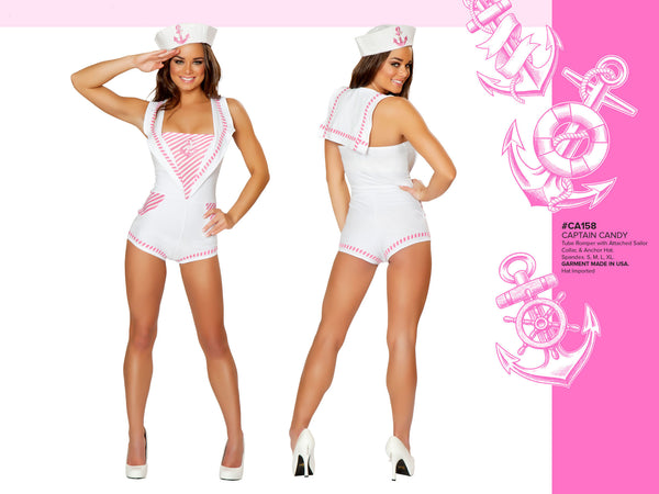 Captian Candy Costume by J Valentine - HussyStore - 2