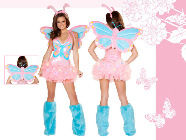 Pastel Butterfly Costume by J Valentine - HussyStore - 1