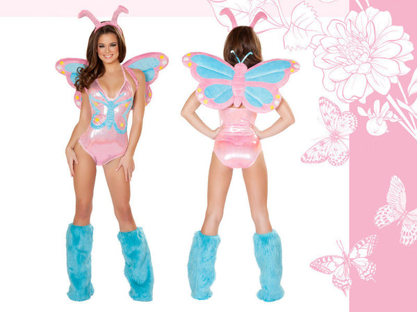 Pastel Butterfly Costume by J Valentine - HussyStore - 2