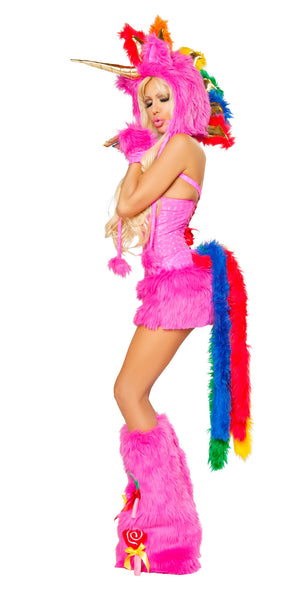 Hot Pink Unicorn Costume by J Valentine - HussyStore - 2