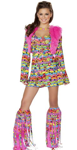 Shaggy Chic Hippie Costume by J Valentine - HussyStore - 1