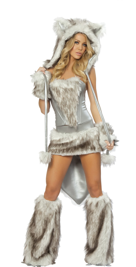Big Bad Wolf Furry Costume by J Valentine - HussyStore - 1