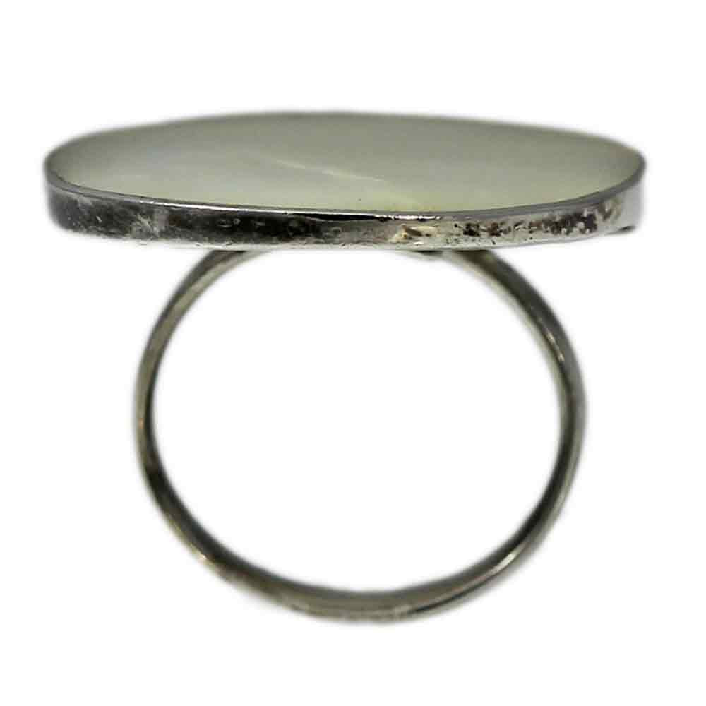 Large Oval MOP Ring