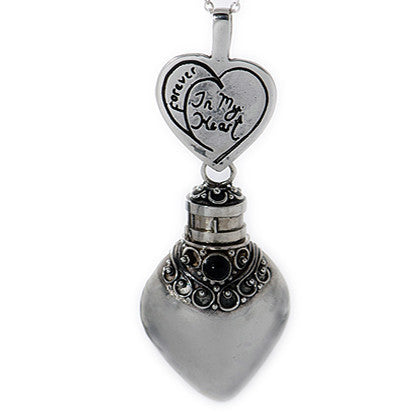 Handmade Sterling Silver Pear Shaped Pendant With Choice of Gemstone