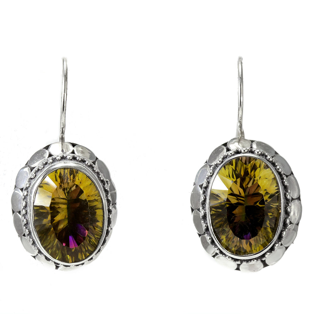 fpx gold yellow semi s shop earrings in jewelry gemstone macy and precious watches white round mystic topaz stone stud