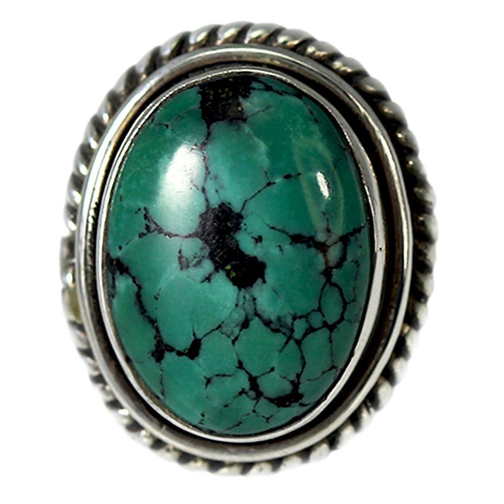 Braided Turquoise Ring